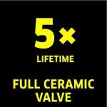 5 x Full Ceramic Valve