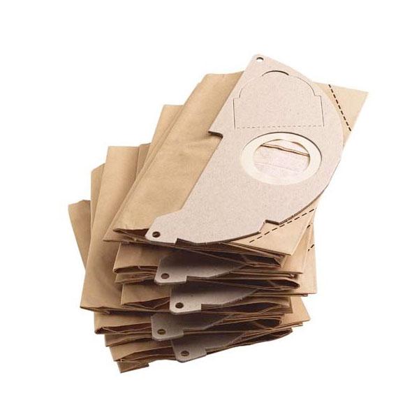 Karcher Paper Filter Bag Pk Of 5 Mv2 Wd 2 200 K 228 Rcher